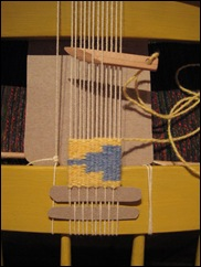Finished-weaving