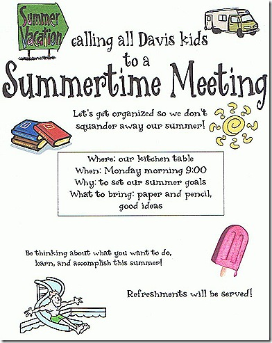 summertime meeting
