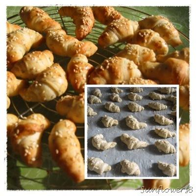 Cornetti salati alle erbe