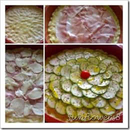 Crostata di zucchine 1