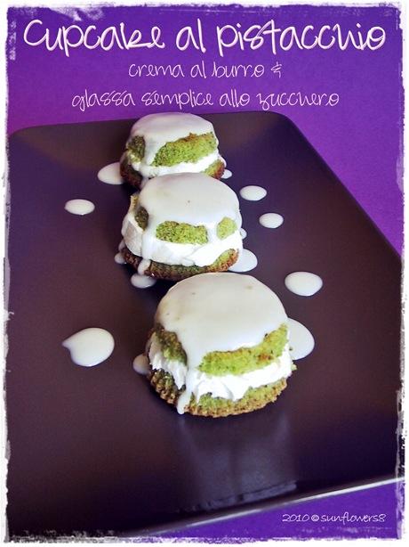 Cupcake al pistacchio