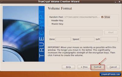 TrueCrypt Format Volume