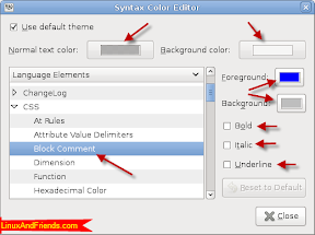 Scribes Syntax Color Editor