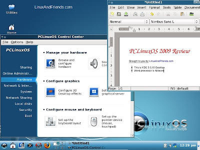 PCLinuxOS Desktop
