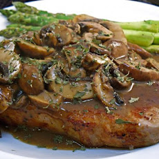 Veal Chops With Mushrooms
