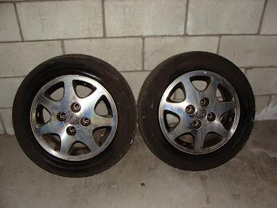 Ca 4 S13 Oem Aluminum Wheels With Direzza Dz101 55 205 15