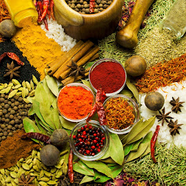 Spices by Dina Priv - Food & Drink Ingredients