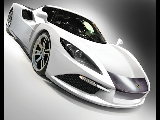 high power super car that