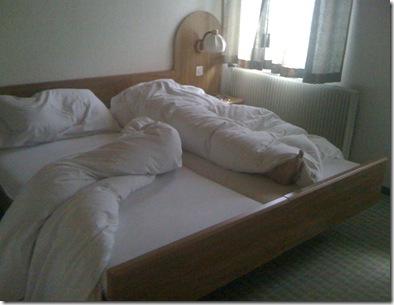 Day 7 Wilderswil Belmont Bed