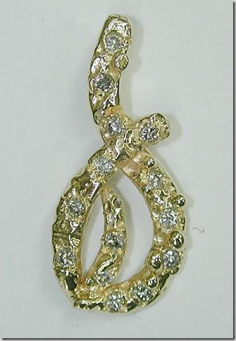 Fused-Diamond-Pendant