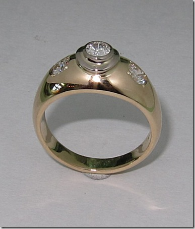 Three-diamond-ring
