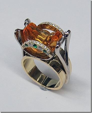 Carved-Citrine-Ring