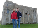 Angie and I at Castle Rising Castle