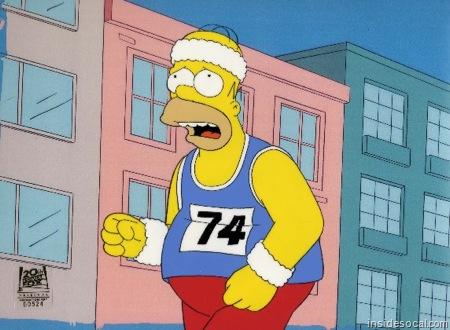 Cardio routine: Homer running?