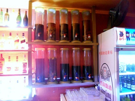 Where to find a less preppy Sanlitun - Lau Wu (Tapas Bar) - cylinders of rum