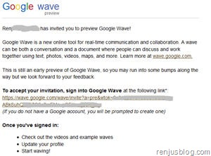 google wave invite free
