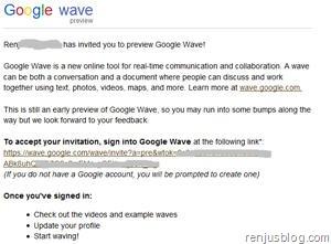 google wave invite free
