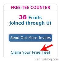 claim free tee