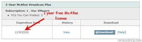mcafee 2010 activation serial key
