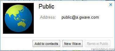 public wave