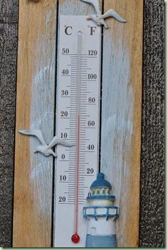 21 grader!! det var 27 tidigare på kvällen! grillad middag på terrassen, årets första :)