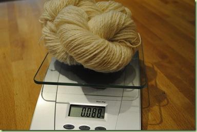 88 gram vit shetlandsull
