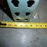 240X36 Used Teardrop Uprights