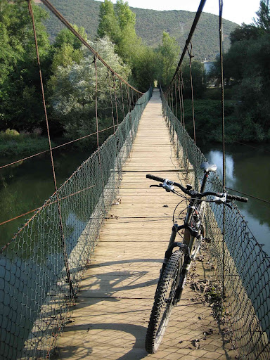 Puente colgante de Valiña