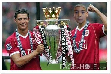 Óscar y Cristiano Ronaldo, ¡campeones!