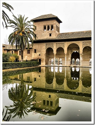 La Alhambra (Granada), un palacio árabe