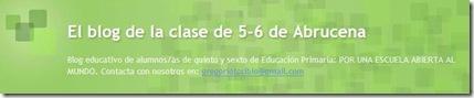 El blog de aula de Gregorio Toribio Álvarez