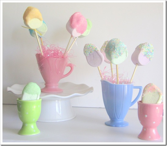Marshmallow Pop Bouquets