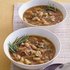 Porcini And White Bean Stew