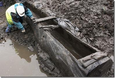 Nantwich medieval salt ship