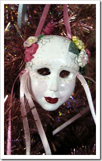 Carnivale Mask ornament