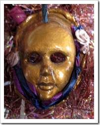 Drama Mask ornament