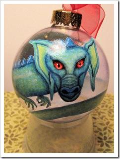 Dragon Orb Ornament