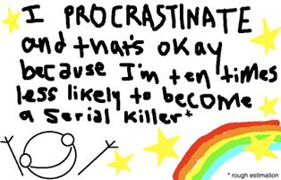 procrastinator award