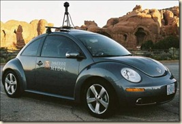 google maps steetview car