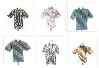 Grosir Lusinan Batik Hem Kemeja Pria