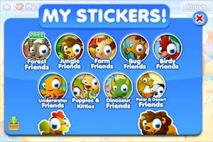 Screenshot of Sticker Time!