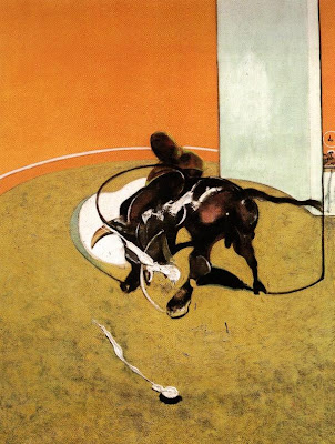 francis bacon, study for a bullfight no 1 second version