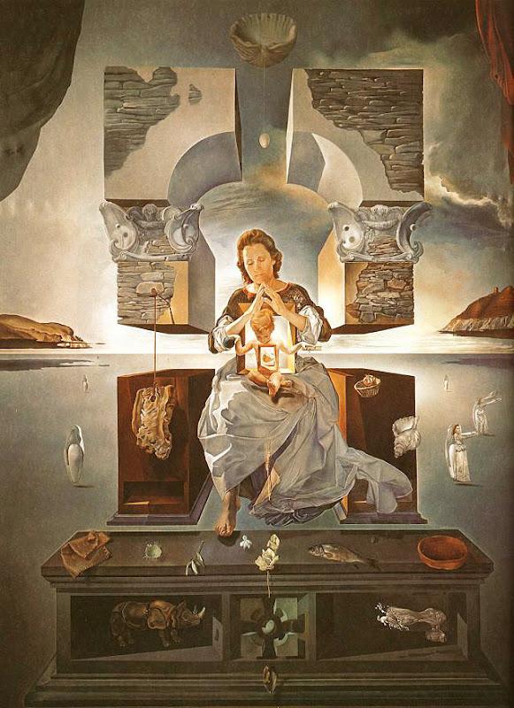Salvador Dalí, de Madonna van Port Lligat