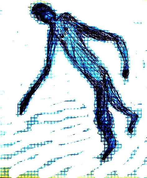 illustratie anatomische vertekening, blogauteur
