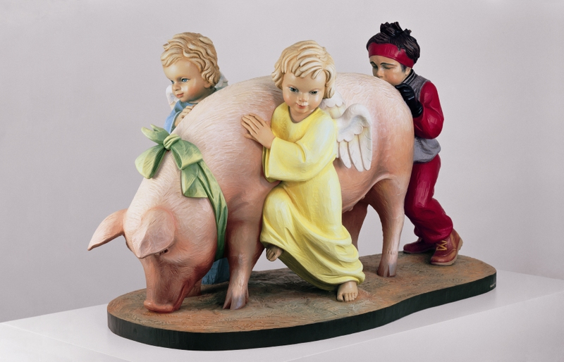 jeff koons, Ushering in Banality