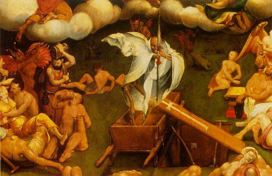 hermann tom ring, triomf van de dood (middenpaneel)