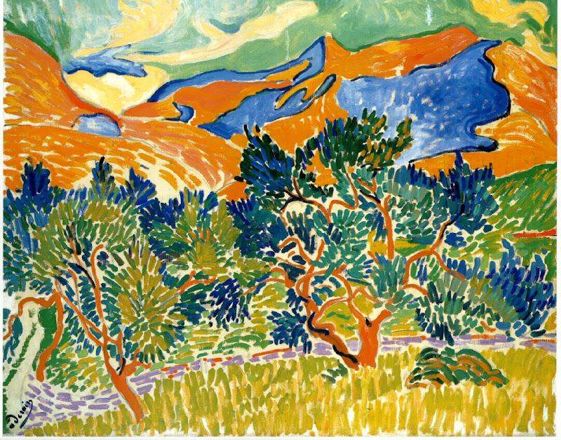 André Derain, bergen bij Collioure
