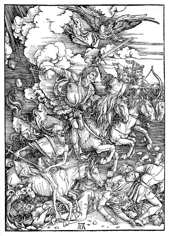 albrecht dürer, the four horsemen of the apocalypse