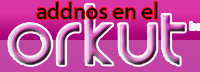 Agreganos en tu ORKUT