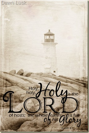 Textured-Holy-Lighthouse